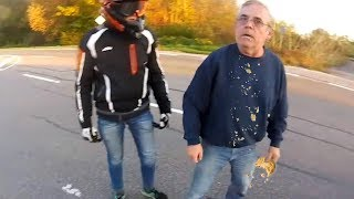 Stupid, Crazy & Angry People Vs Bikers 2017