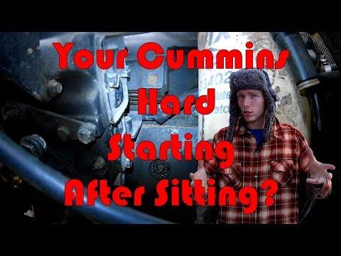 Common 12 Valve Cummins Hard Start Issue