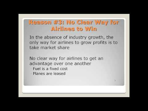 Top 4 Reasons Why I Do Not Invest in Airline Stocks