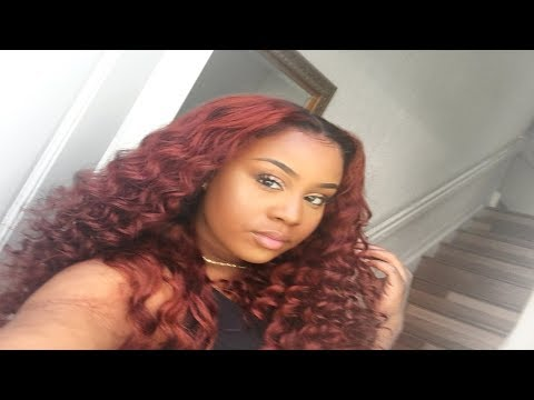 WATCH ME SLAY THIS WIG: BOMB CURLS & COLORING | SOUL LADY HAIR