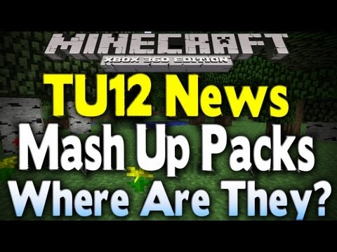 Minecraft Xbox 360 - TU12 MASH-UP PACK CLEAR UP (Where Are They?)