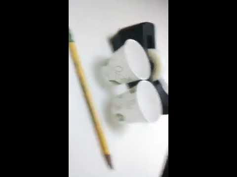 DIY paper cup binoculars tutorial
