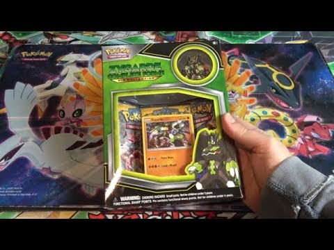 Pokemon TCG Zygarde Complete Forme Pin Collection Opening