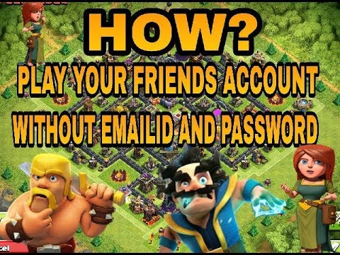 Play friends maxed Account Without Email id and Password