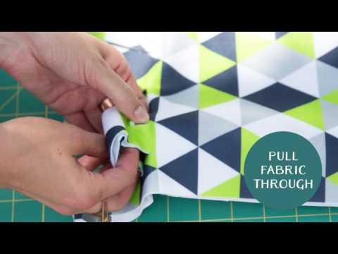 No Sew Double Sided Fleece Tie Blanket | Spoonflower