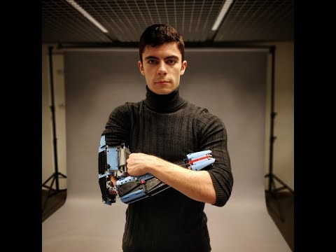 MK-II Project (Hand Solo's 2nd prosthetic LEGO limb)