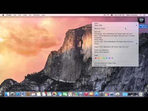 2015 MacBook Final Cut Pro X 4K Video Performance Test