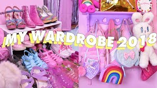 MY SHOES AND BAGS COLLECTION 💘 2018 Wardrobe Tour Pt  1
