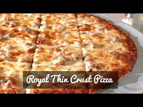 Royal Thin Crust Pizza | Crust Pizza Recipe