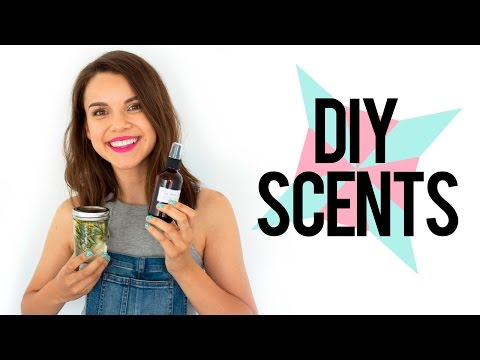 DIY Room Scents + Sprays // Fill Your Home With Love!