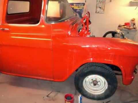 57 chevy truck  restoration