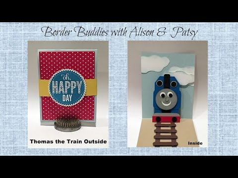 Thomas the Train Pop Up Card