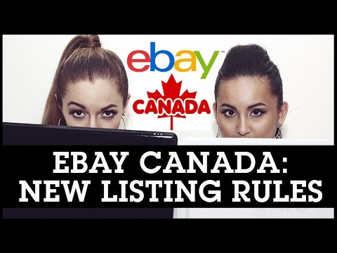 Selling On eBay Canada: New Listing Rules For Canadian Sellers