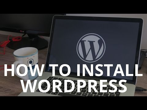 How to install WordPress on your local computer - WordPress tutorial 2