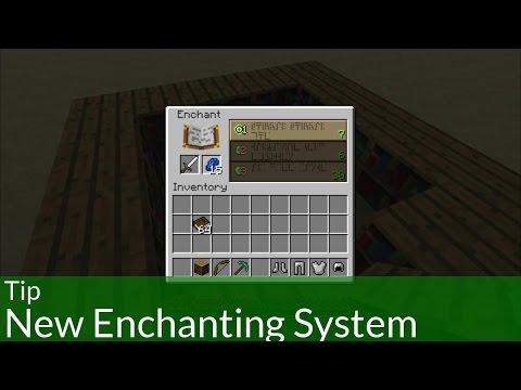 Tip: Minecraft's New Enchanting System