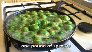 How To Boil Brussels Sprouts