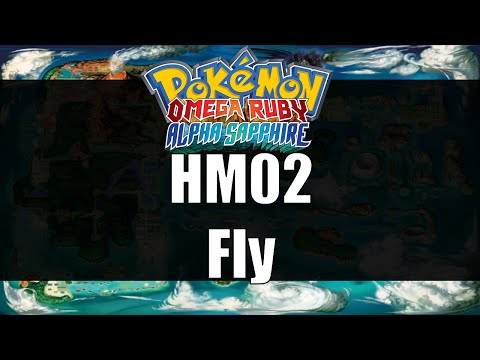 Pokemon Omega Ruby & Alpha Sapphire - Where to get HM02 Fly