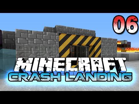 Minecraft Crash Landing 6 - Tripling Ores and Pneumaticraft