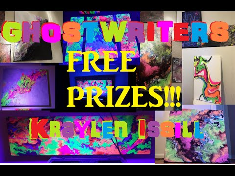 Ghostwriter's Fish Tank Art Giveaway by Addictive Aquaculture!!!