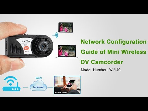 Wireless Mini DV Camcorder Complete Operation Instruction (Model Number: WIFI40)