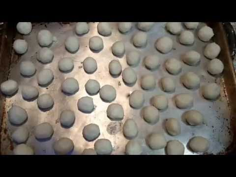 FRIED SWEET MOCHI Recipe (Sweet Rice Flour Donuts) PART 1 of 3