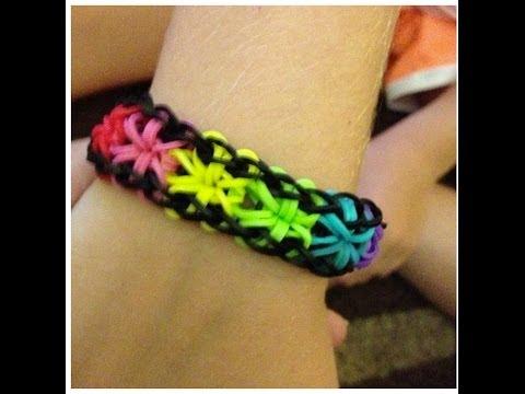 How To Make Rainbow Loom Starburst Bracelet | Fastest, Easiest Tutorial