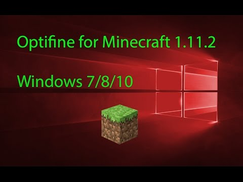 HOW TO INSTALL Optifine for Minecraft 1.12.2 (2017)