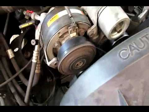Belt and Belt tensioner change No mo noise! 88-95 Chevy Silverado GMC Sierra 5.0 5.7,