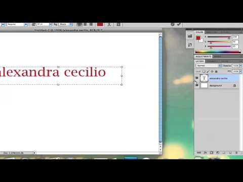 How to Get Small Text in Photoshop : Adobe Photoshop Tutorials