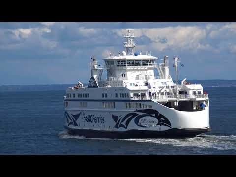 Vancouver to Victoria BC Ferry Ride in 4K (UHD)