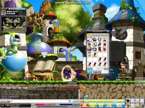 how to make fast mesos in maplestory !