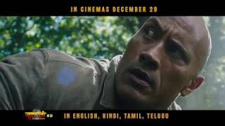 Jumanji: Welcome To The Jungle   Official Hindi Trailer   In Cinemas Dec 29