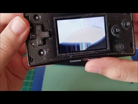 Let's Fix: Nintendo Gameboy Micro with Cracked LCD