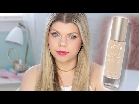NEW 100% Pure Bamboo Blur Tinted Moisturizer Review | Jenna Catherine
