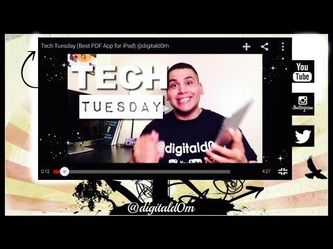 Best FREE PDF App for iPad (Tech Tuesday) @digitald0m