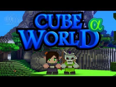 CUBE WORLD #01 - Der Elf und der Untote! ■ Let's Play Together Cube World