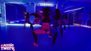 TroyBoi - Do you Aussie Twerk Students Team with DHQ Kris Moskov at L.A. Dance Studio