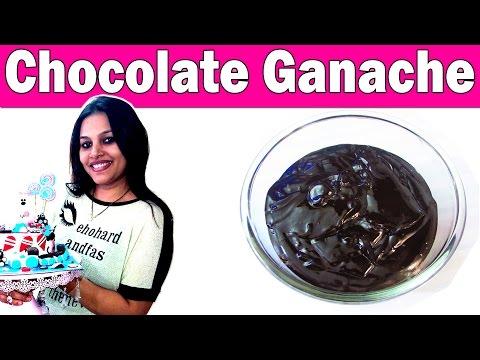 How To Make Chocolate Ganache with Fresh Cream