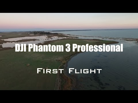 DJI Phantom 3 Professional Aerial Drone Footage - First Flight