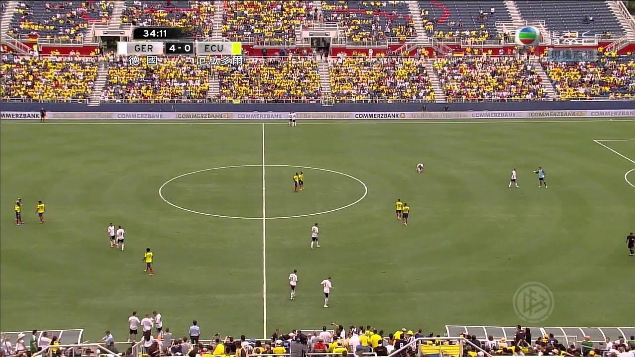[國際足球友誼賽 Friendly]2013/5/30 德國 Germany VS 厄瓜多爾 Ecuador