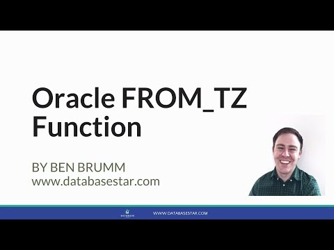 Oracle FROM_TZ Function