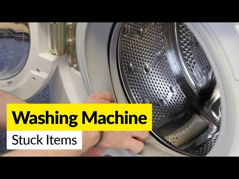 How to Remove a Stuck item from a Washing Machine Drum