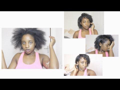 Straightening 4b/4c Natural Hair