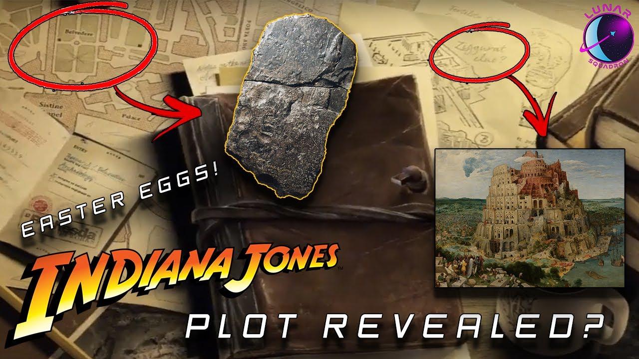 Bethesda's Indiana Jones Game HIDDEN Plot Details REVEALED?! ALL MAJOR Easter Eggs! |Official Teaser