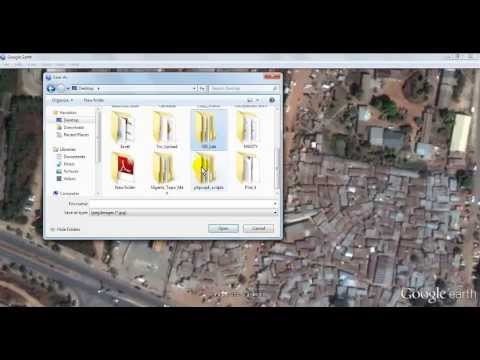 How to Download BIG Rectified Google Earth Imagery to get big High Resolution Image