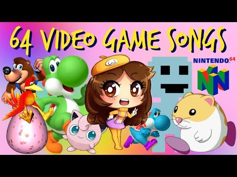 64 Video Game Songs Playlist (No Repeat Games)