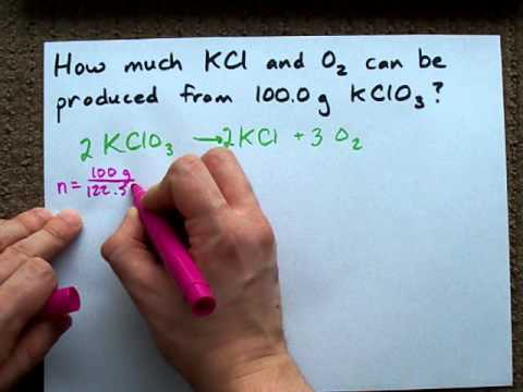 Theoretical Yield Example 2