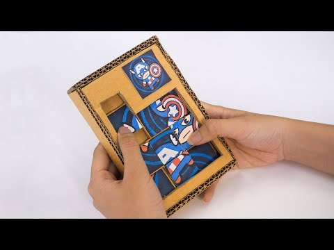How to make Puzzle Games For Kids - Cardboard DIY