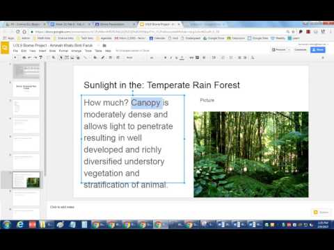 How to change the font size color and use boldunderline in Google Slides