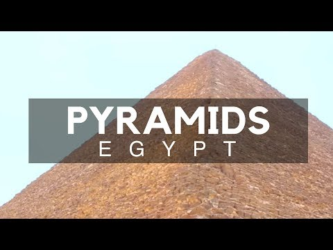 Pyramids, Cairo, Egypt - Ancient Egypt - The Three Great Pyramids of Giza and their Historical Story